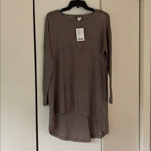 New with tags- Anthropologie Blue Tassel Top XS